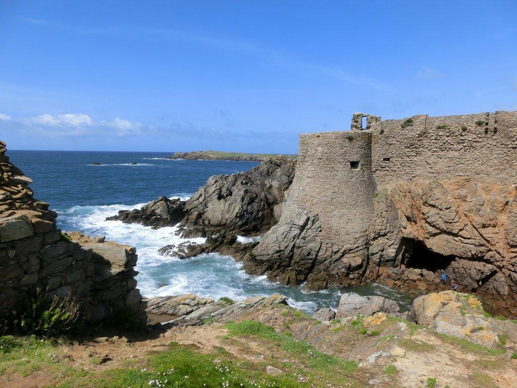 Vieux-château de l'ile d'Yeu