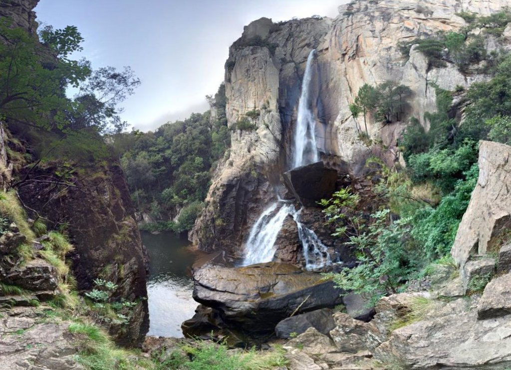 La cascade de Piscia di Gallu