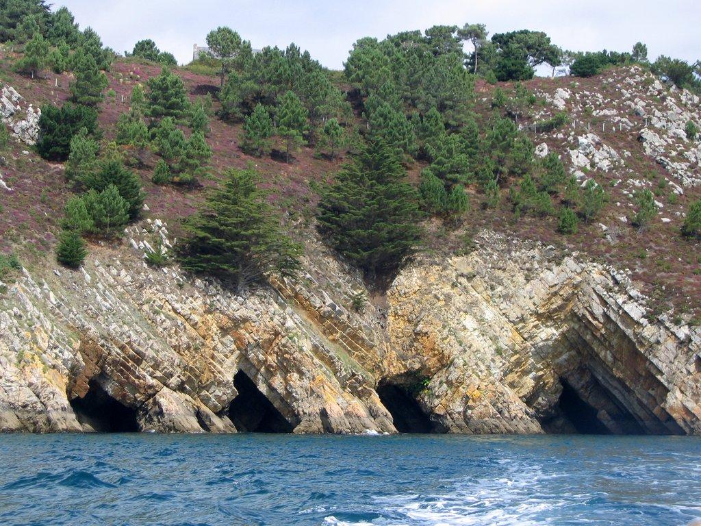 Les Grottes marines de Morgat