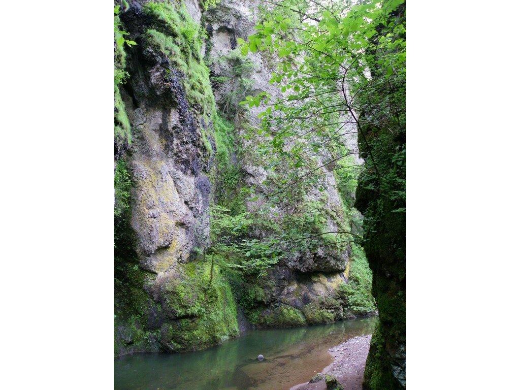 Les gorges du Pas de Cère et la Cascade de la Roucolle