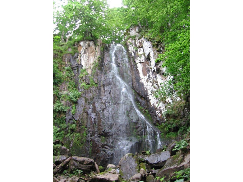 La cascade de Liadouze ou du Luc