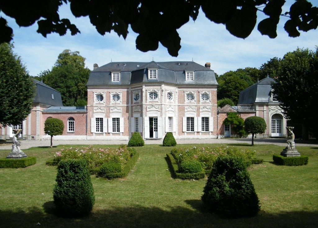 Château de Bagatelle à Abbeville