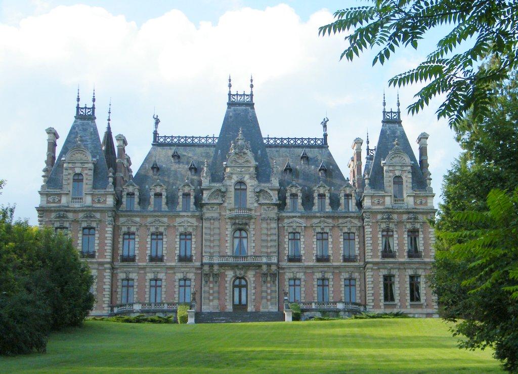 Le château de la Navette, ou château de Flixecourt