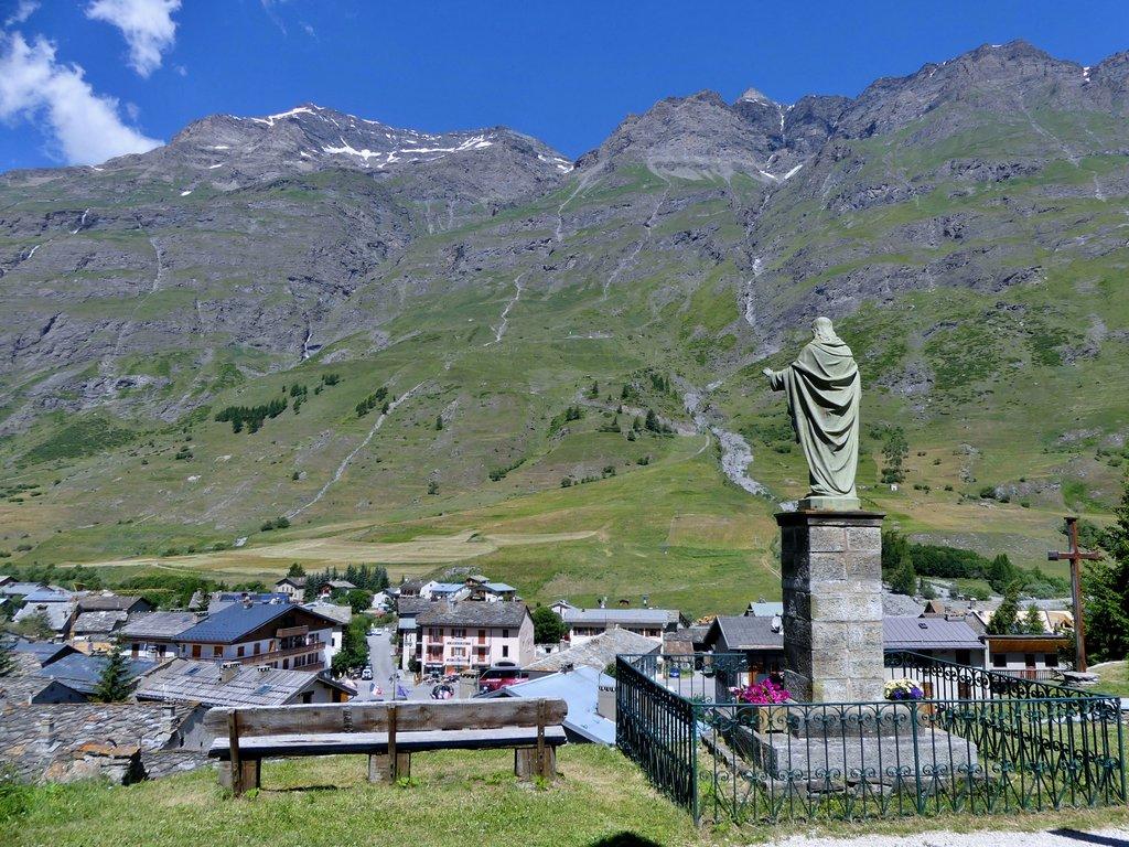 Bessans Val d'Arc 1750m
