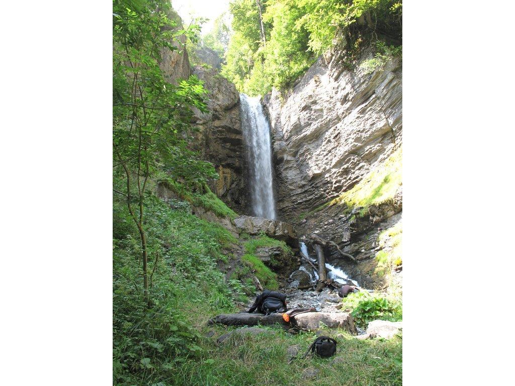 Les cascades de Saubaudy et du Déchargeux