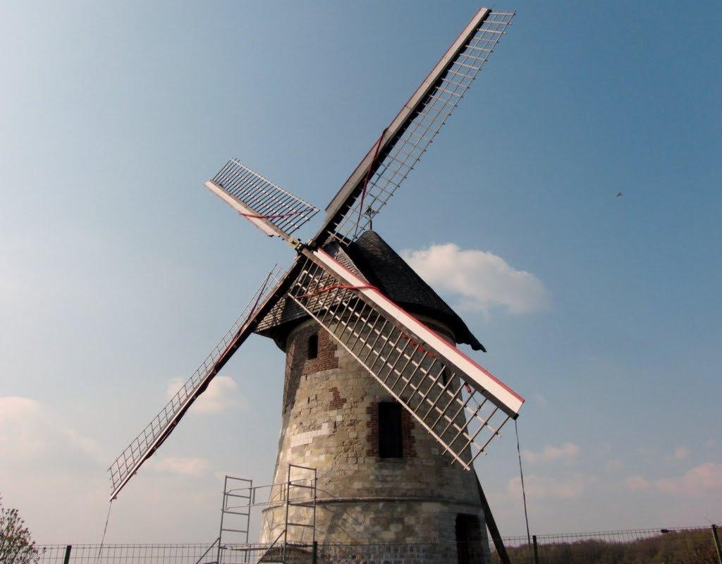 Moulin de Déheries à Walincourt-Selvigny - Moulin Brunet