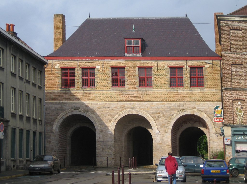 La porte de Roubaix ou porte Saint-Maurice