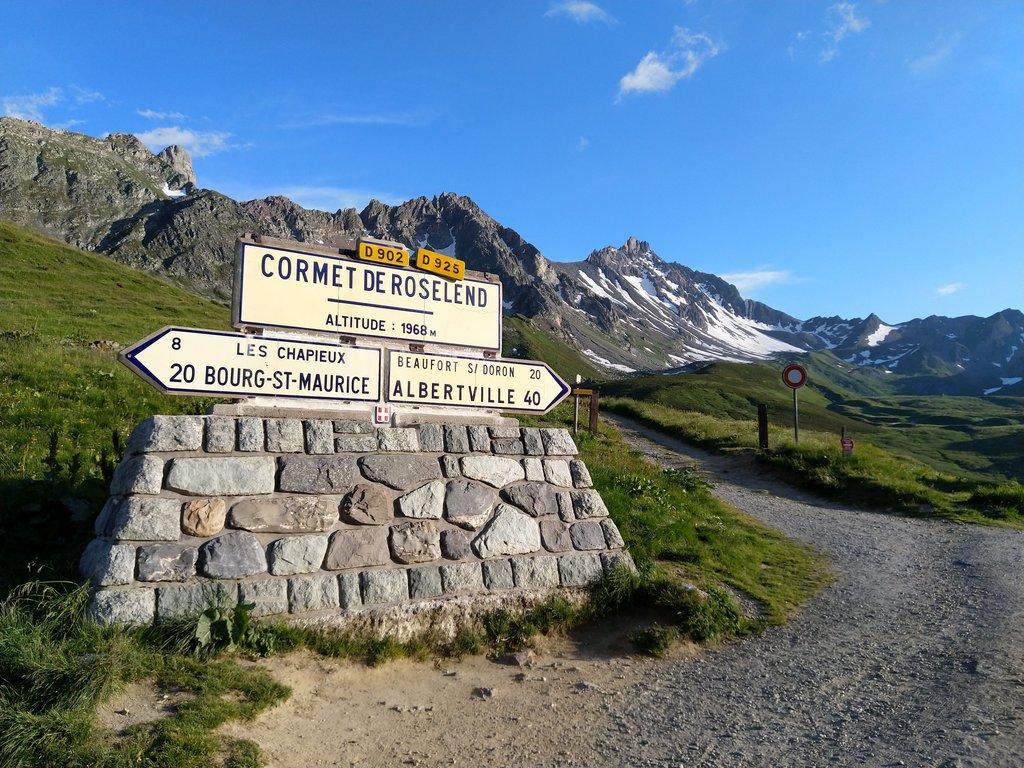 Col du Cormet de Roselend