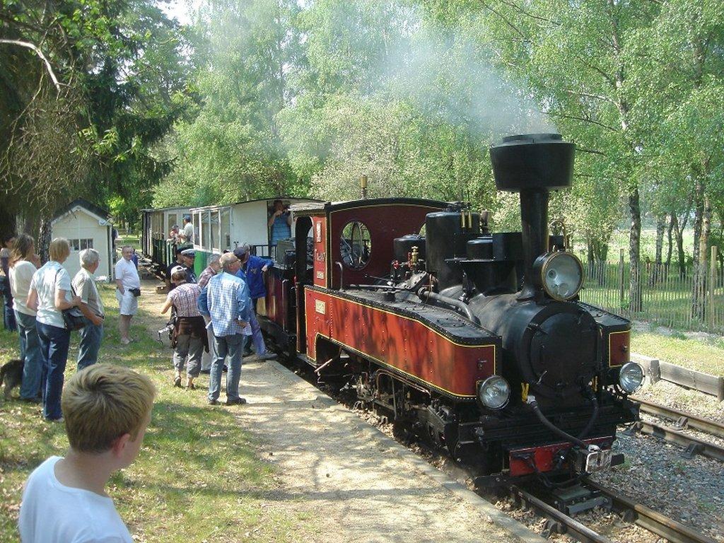 Train à vapeur - Chemin de Fer de Rillé