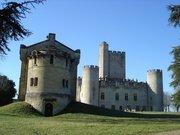 Roquetaillade château et chapelle