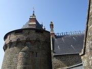 Château de Combourg - La Tour du Croisé vue des remparts