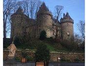 Château de Combourg et statue de Chateaubriand