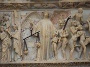 Cathédrale Saint-Étienne de Bourges - Portail du Jugement Dernier