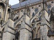 Cathédrale Saint-Étienne de Bourges - Prise de vue de l'extérieur