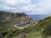 Golfe de Girolata depuis le Col de Palmarella