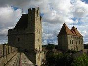 La Cité de Carcassonne vue des remparts Nord