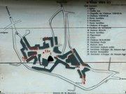 Plan de la commune de Saint-Robert