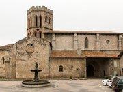 Cathédrale Saint Lizier-Place de l'église