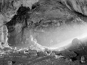 Entrée de la grotte de Gargas