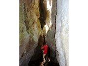 Passage étroit dans les gorges de Régalon