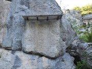 Le défilé de la pierre Ecrite