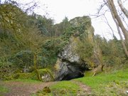 Grotte et canyon de Saulges