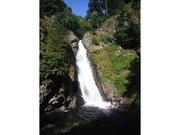 Grande cascade de Gimel - Queue de cheval