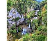 Chaux-des-Crotenay, gorges de la Lemme et cascade de la Billaude