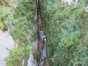 Cascades et gorges de la Langouette
