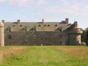 Chateau de Kergroades, coté nord-BRELES