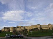 Façade sud du château de Caen