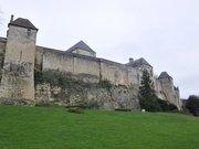 Rempart ouest du château de Caen