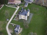 vue d'avion du chateau