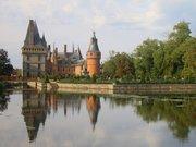 Reflets dans le bassin du château de Maintenon