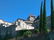 Aubenas - château vu du nord