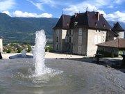 Château du Touvet - Jeux d'eau