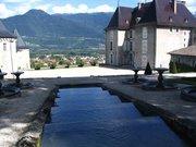 Château du Touvet -Escaliers d'eau