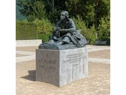 Statue de Marat au château de Vizille