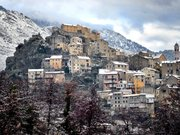 Corte citadelle sous la neige