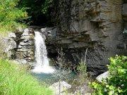 La cascade du saut de la Pie à Auzet