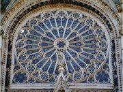 Rouen Cathédrale Primatiale Notre-Dame-de-l'Assomption Nord rosette