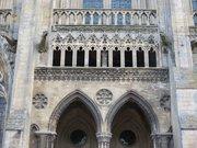 Portail latéral sud nef cathédrale Bayeux