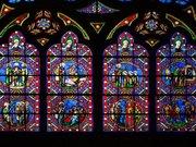 vitraille de la cathédrale de Bayeux