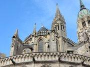 Chevet cathédrale Bayeux