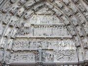 Tympan sud cathédrale Bayeux