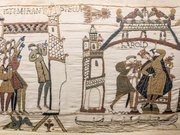 Bayeux Tapestry 32-33 comet Halley Harold