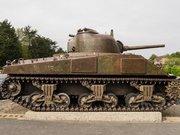 "M4A4T(75) ""Burieux"" Sherman, Musée Mémorial d'Omaha beach,"
