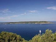 Île de Bagaud vue de l'île de Port-Cros