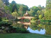 Vue du Parc Floral d'Apremont
