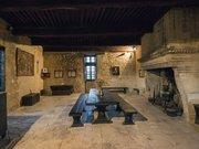 La grande salle du Château des Roure